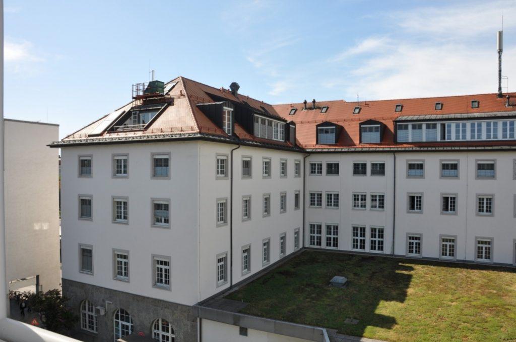 Außenansicht der exklusiven Dachgeschoss-Wohnung am Ostbahnhof