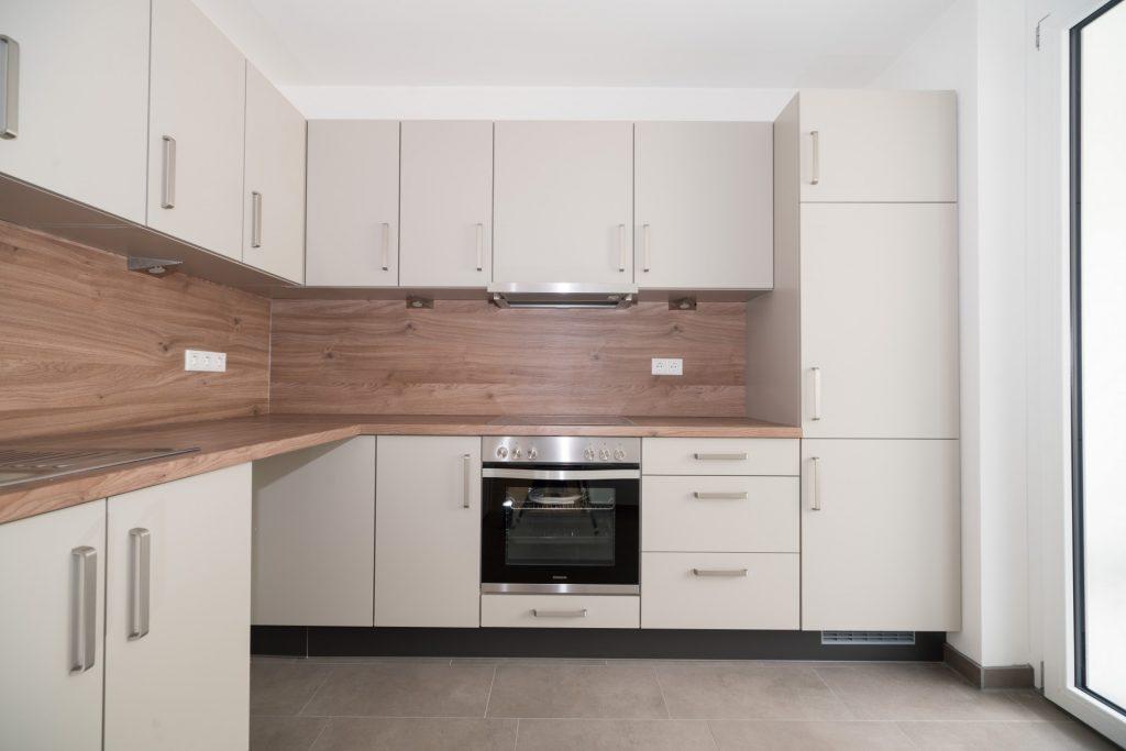 Küche der Musterwohnung