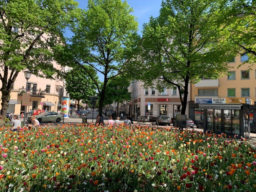 Foto des Stadteils Haidhausen