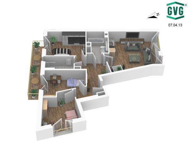07.04.13 Ansicht5 1030x773 1 600x450 - Neubau! Erstbezug! Moderne 4-Zimmer-Wohnung mit Terrasse