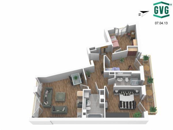07.04.13 AnsichtV 1030x773 1 600x450 - Neubau! Erstbezug! Moderne 4-Zimmer-Wohnung mit Terrasse