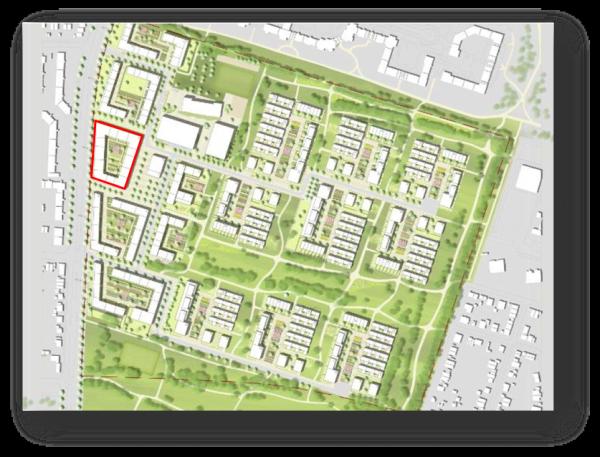 Baufeld PEK 1 600x457 - Neubau! Erstbezug! Moderne 3-Zimmer-Wohnung mit Loggia
