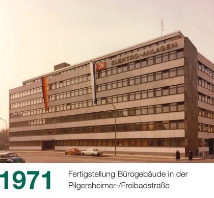 Historie Slider 1971 Pilgersheimerstraße 420x388 1 - Historie