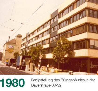 Historie Slider 1980 Bayerstraße 420x388 1 - Historie