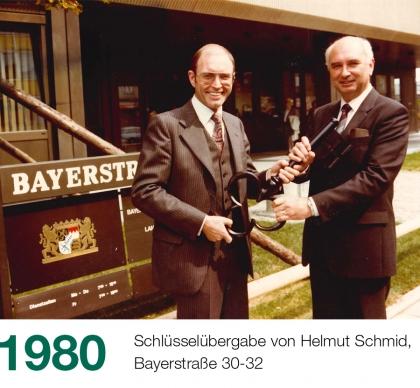 Historie Slider 1980 Bayerstraße 2 420x388 1 - Historie