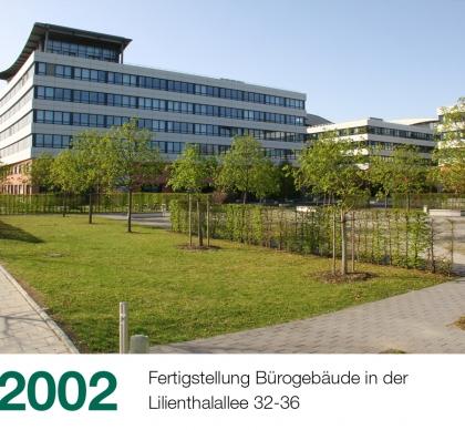 Historie Slider 2002 Lilienthalallee 420x388 1 - Historie