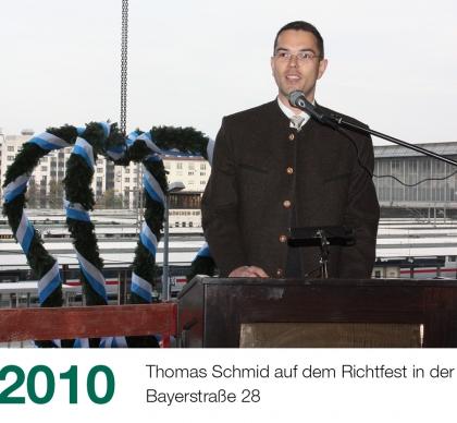 Historie Slider 2010 Bayerstraße Richtfest 420x388 1 - Historie