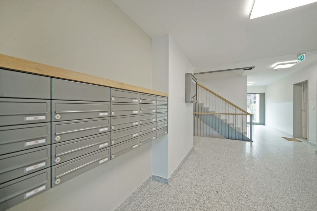 Eingangsbereich 1024x682 - Neubau! Erstbezug! Moderne 3-Zimmer-Wohnung mit Einbauküche und Loggia (Whg. 07.12)