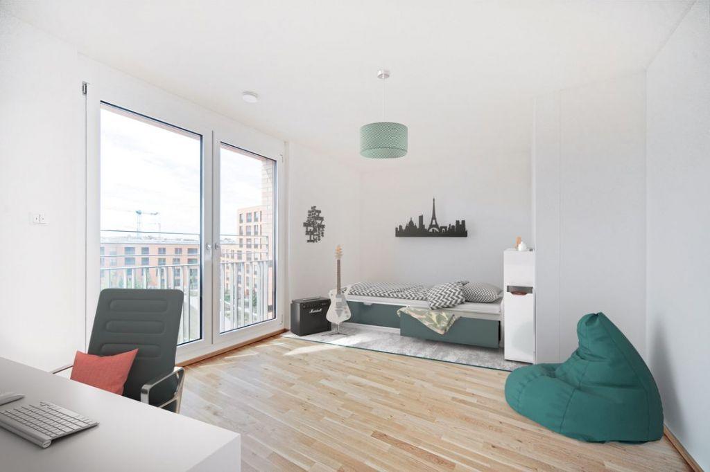 Visualisierung Kind 1 1024x682 - Neubau! Erstbezug! Moderne 4-Zimmer-Wohnung mit Einbauküche und Loggia (Whg. 08.19)