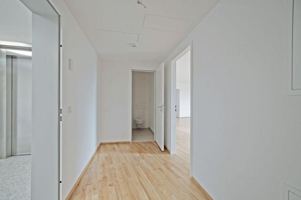 Eingangsbereich Wohnung 1 1024x682 - Neubau! Erstbezug! Moderne 3-Zimmer-Wohnung mit Einbauküche und Loggia (Whg. 07.12)