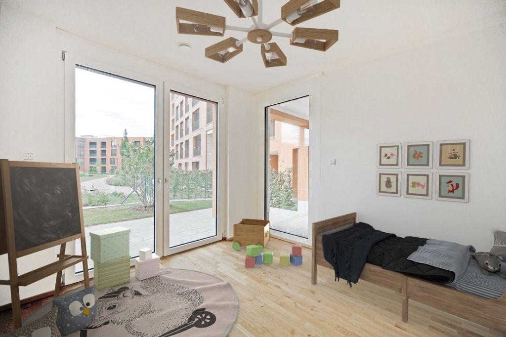 Visualisierung Kind 1 1024x682 - Neubau! Erstbezug! Großzügige 2- bis 4-Zimmer-Wohnungen in Neupasing
