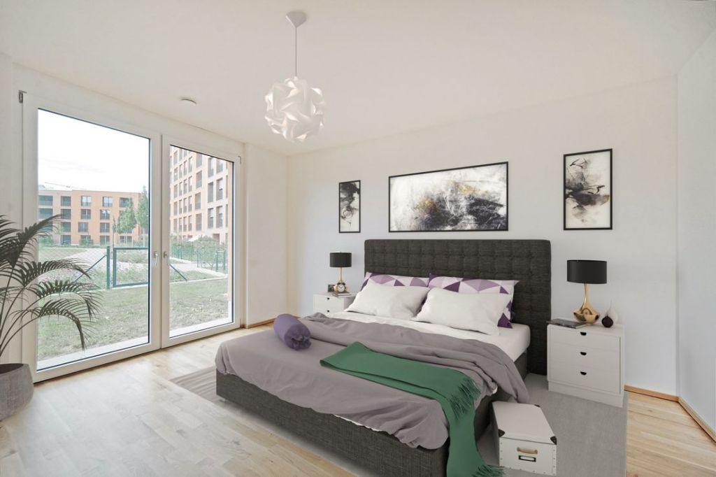 Visualisierung Schlafen 1024x682 - Neubau! Erstbezug! Großzügige 2- bis 4-Zimmer-Wohnungen in Neupasing