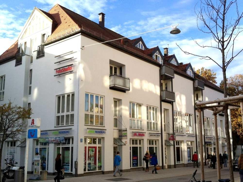 Gleichmannstrasse Aussenansicht - Große 2-Zimmer-Wohnung mit Galerie am Pasinger Bahnhof
