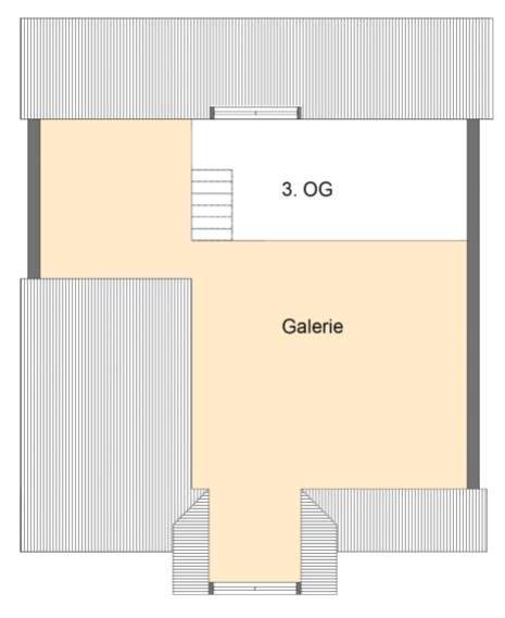 Gleichmannstrasse Grundriss DG - Große 2-Zimmer-Wohnung mit Galerie am Pasinger Bahnhof