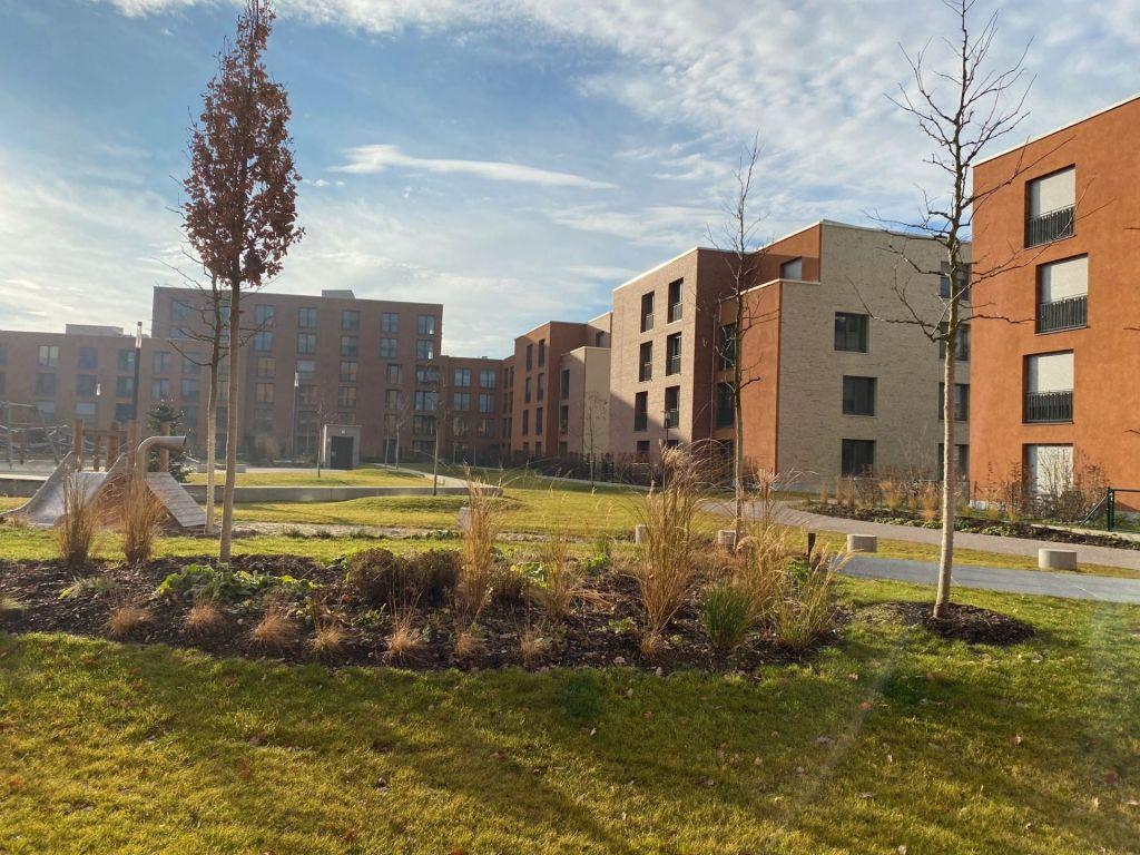 Innenhof3 1024x768 - Neubau! Erstbezug! Großzügige 2- bis 4-Zimmer-Wohnungen in Neupasing