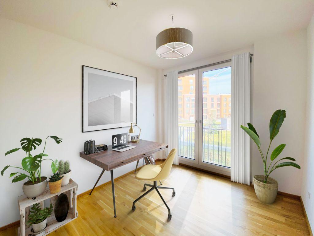 Visualisierung Kinderzimmer Buero 1024x768 - Neubau! Erstbezug! Großzügige 2- bis 4-Zimmer-Wohnungen in Neupasing