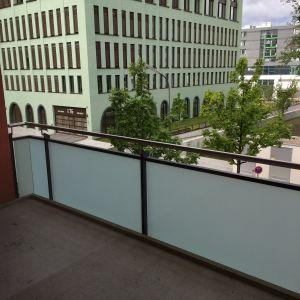 Blick vom Balkon (nach Süden)